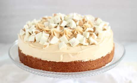 White Chocolate Peanut Butter Cheesecake Recipe