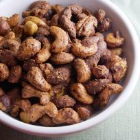 Spicy Roasted Nuts Recipe
