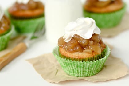 Apple Pie Cupcakes: Happy Autumn Dessert