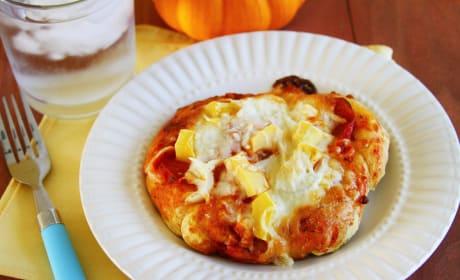 Pumpkin Pizza Dough Picture