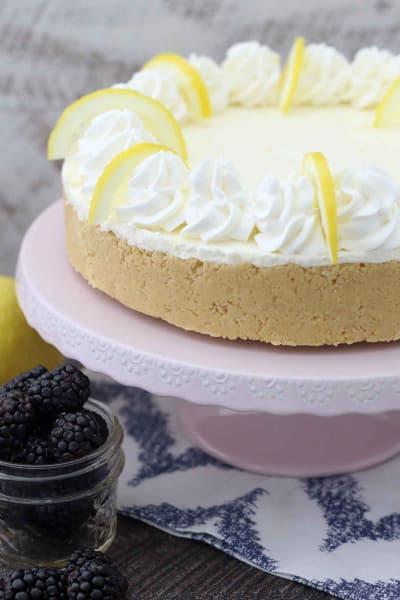 No Bake Lemon Cheesecake Picture