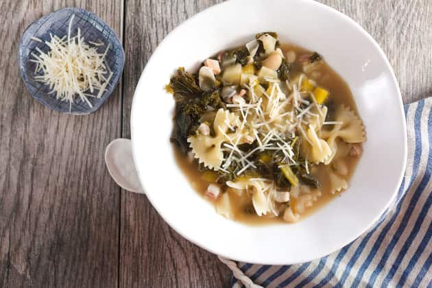 White Bean and Kale Soup Photo
