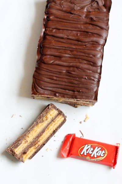 Homemade Kit Kat Bars Pic