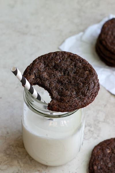 Toffee Nutella Cookies Image