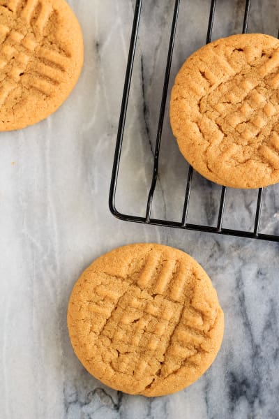 3 Ingredient Peanut Butter Cookies Picture