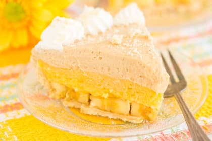 Banana Pudding Peanut Butter Pie