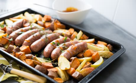 Sheet Pan Sausage Dinner Recipe