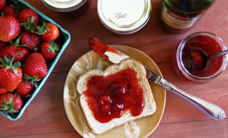 Strawberry Balsamic Jam Photo