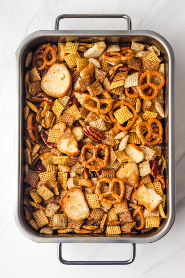 Toaster Oven Chex Mix Pic