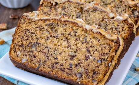 Maple Pecan Banana Bread Recipe