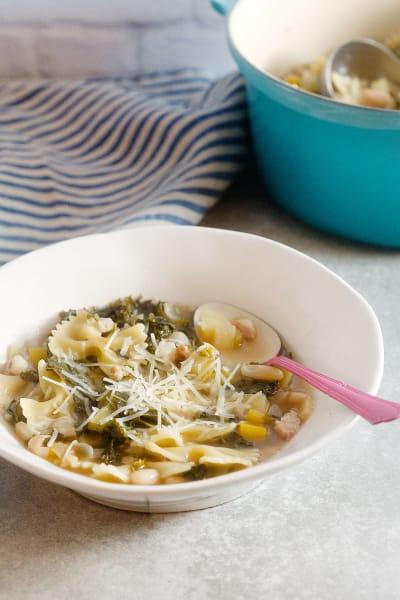 White Bean and Kale Soup Pic