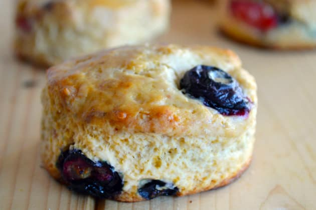 Mixed Berry Biscuits Photo