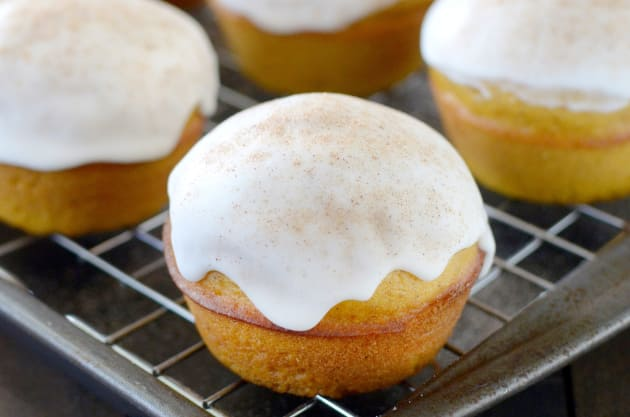 Cinnabon Pumpkin Muffins Photo