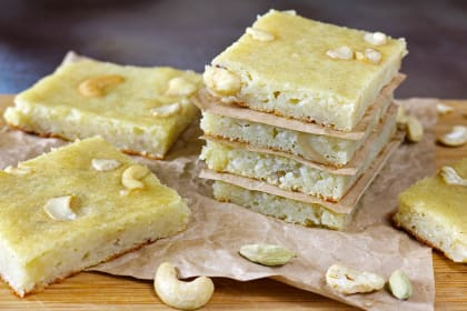 Cashew Potato Bars