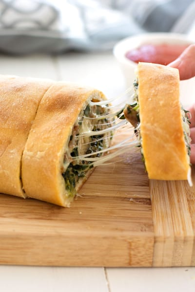 Stuffed Spinach Bread Picture