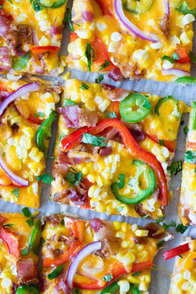 Tex-Mex Pizza Pic