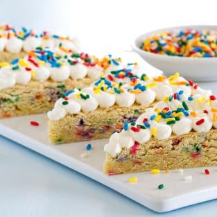 Funfetti sugar cookie bars photo
