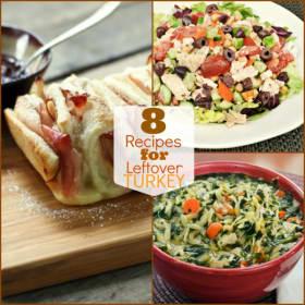 8 Terrific Recipes for Leftover Thanksgiving Turkey