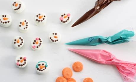 Homemade Williams-Sonoma Marshmallow Snowmen Pic