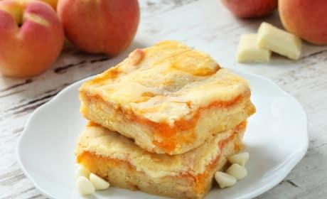 Gluten Free Apricot White Chocolate Blondies Photo