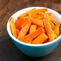 Apple Butter Glazed Sweet Potatoes Recipe