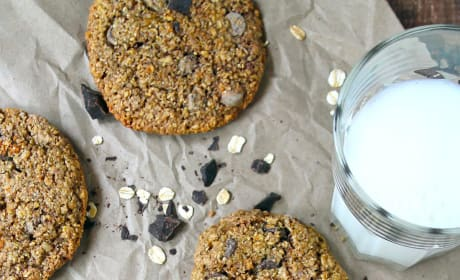 Gluten Free Oatmeal Chocolate Chip Cookies Pic