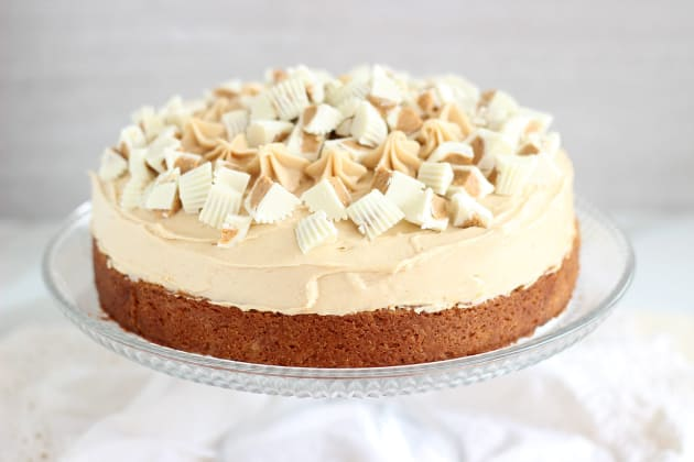 White Chocolate Peanut Butter Cheesecake Photo