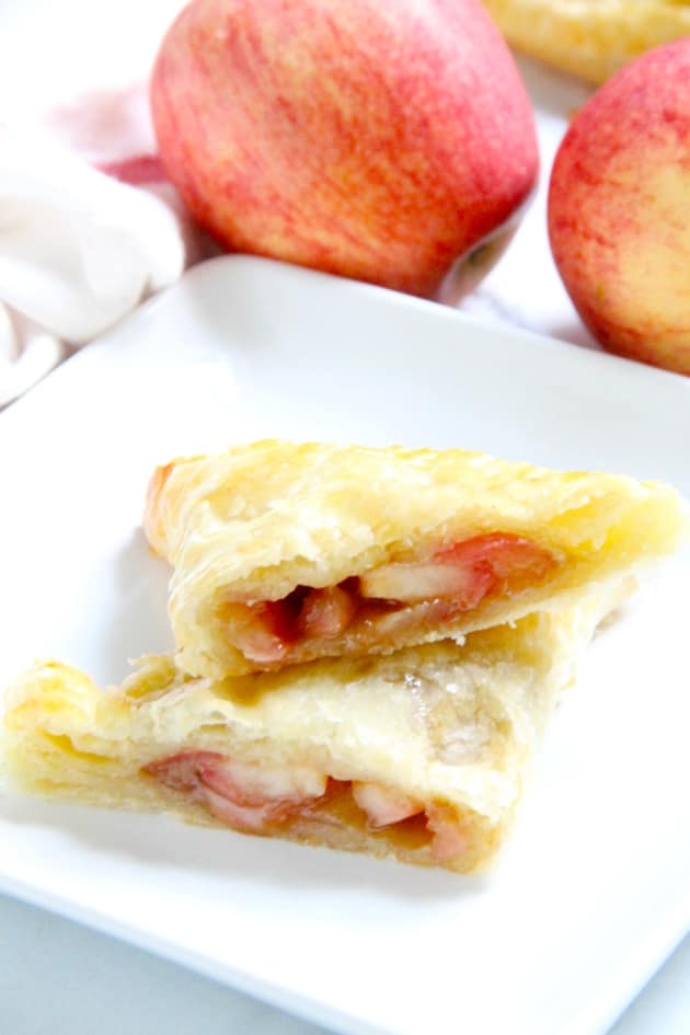 Puff Pastry Apple Pie Turnovers Image