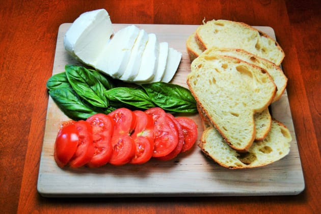 Grilled Caprese Sandwich Picture
