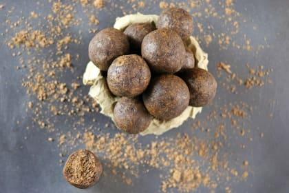 Mocha Almond Bites