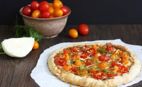 Tomato Fennel Tart Recipe