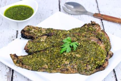 Grilled Chimichurri Steaks