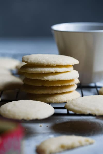 Low Carb Shortbread Cookies Pic