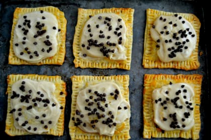Cookie Dough Pop Tarts