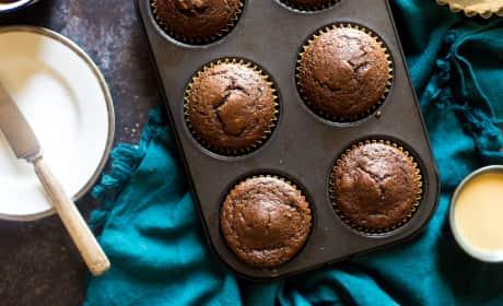 Paleo Chocolate Maple Tahini Muffins Recipe