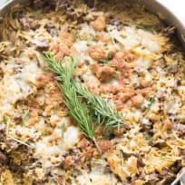 French Onion Skillet Beef Casserole Recipe