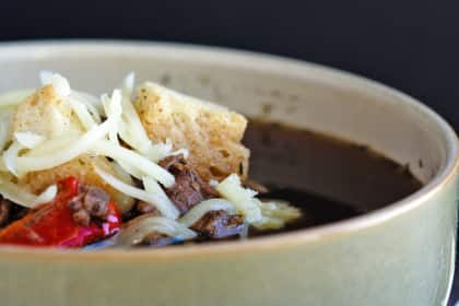 Philly Cheese Steak Soup