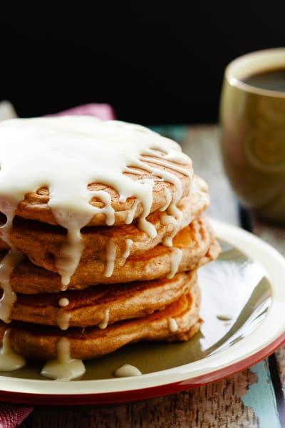 Cinnamon Roll Pancakes Image