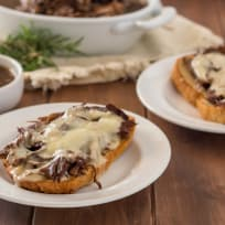Instant Pot Gluten Free French Dip Sandwiches Recipe