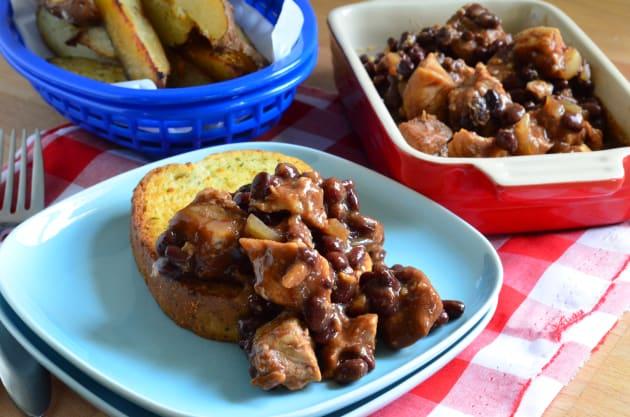 Pork and Black Beans Photo