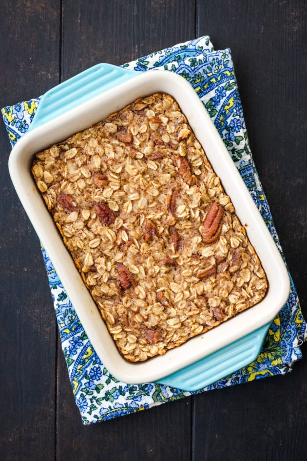 Toaster Oven Baked Oatmeal Pic