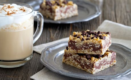 No Bake Chocolate Peanut Butter Oatmeal Bars Recipe