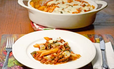 Baked Ziti with Spinach Recipe