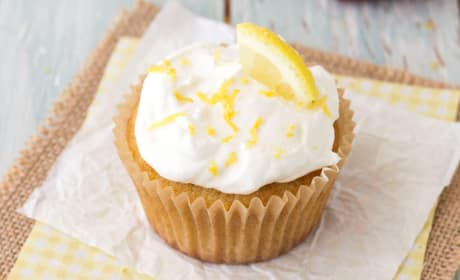Lemon Olive Oil Cupcakes Photo