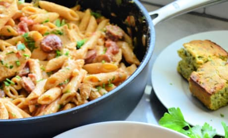 One Pot Cajun Chicken Pasta Pic