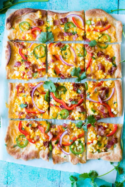 Tex-Mex Pizza Picture