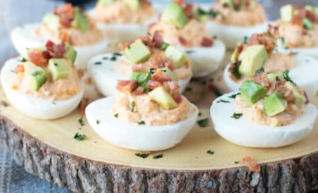 Chipotle Bacon Deviled Eggs Recipe