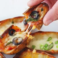 Toaster Oven Potato Skins Recipe