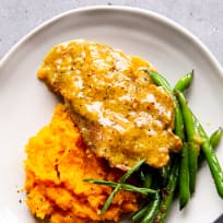Instant Pot Honey Mustard Pork Chops Recipe