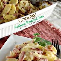 Creamy Scalloped Potatoes and Ham